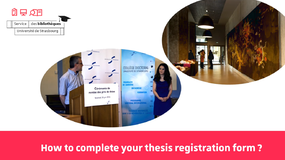 2019 - Doctoral tutorial - How to complete your thesis registration form