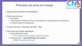 PA - Clinique - TCA prise en charge