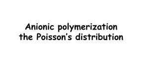 ECPM GenPoly the poisson's distribution