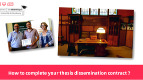 2019 - Doctoral tutorial - How to complete your thesis dissemination contract