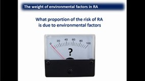 Pr. Laurent Arnaud: Environmental factors in RA and Sjögren's