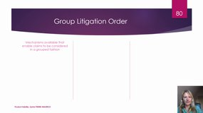 Product liability: litigation specificities